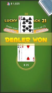 Lucky Blackjack 21 screenshot 2