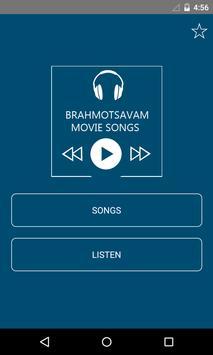Brahmotsavam Movie 2016 Songs poster