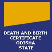 DEATH AND BIRTH CERTIFICATE ODISHA icon