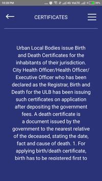 DEATH AND BIRTH CERTIFICATE ODISHA apk screenshot