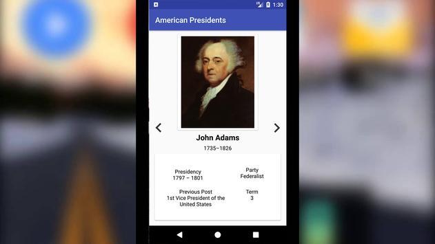 American Presidents apk screenshot