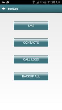 Quick Backup and Restore screenshot 1