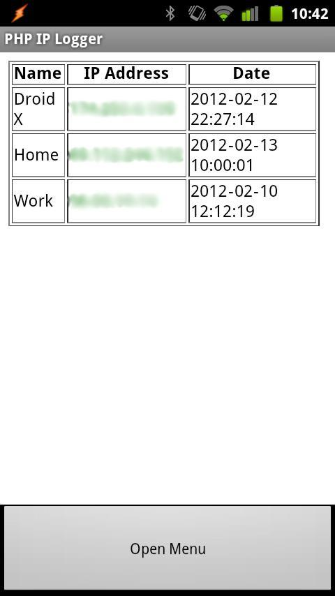 PHP IP Logger for Android - APK Download