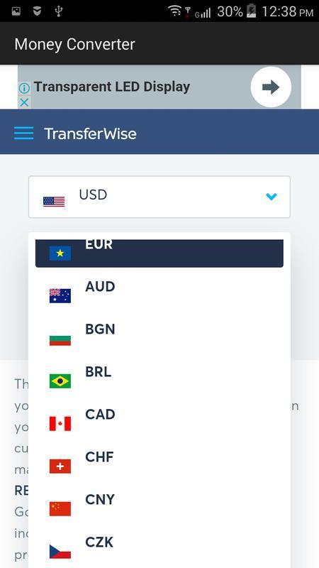 Money Converter Poster Screenshot 1