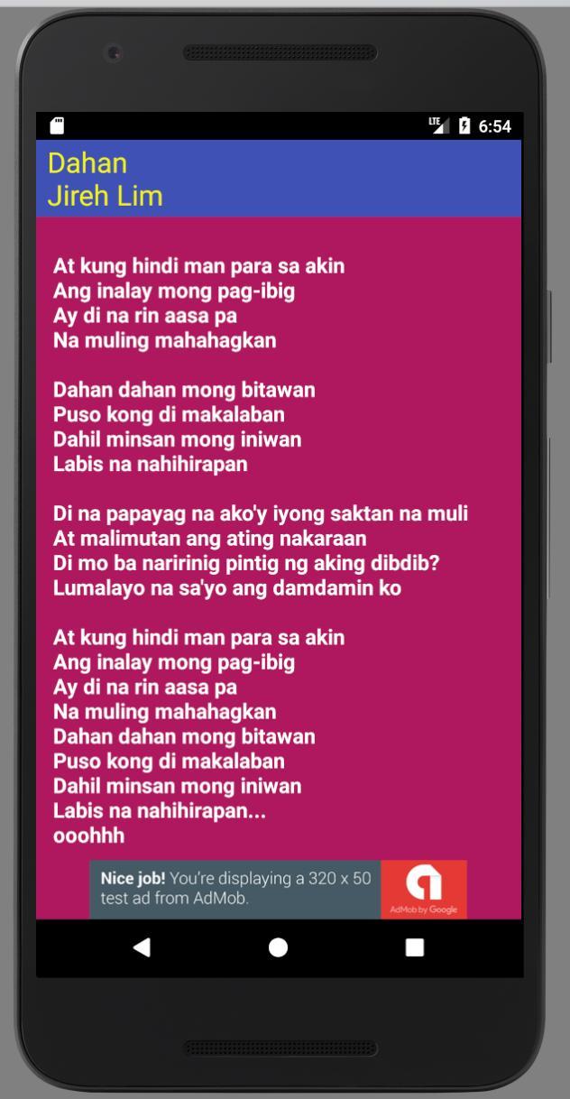 Bitawan mo ako lyrics