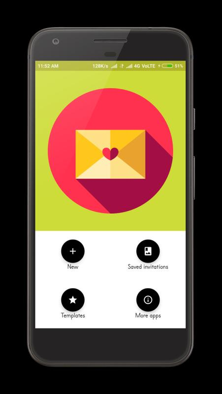 Invitation card maker apk download free art design app for invitation card maker poster stopboris Image collections
