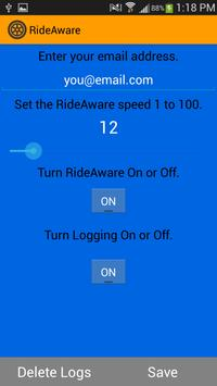 RideAware screenshot 2