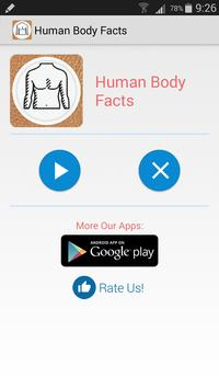 Human Body Facts poster