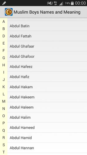 Muslim Boys Names And Meaning For Android Apk Download