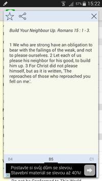 Words of Apostles Daily Bible apk screenshot