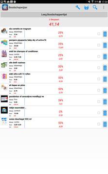 Boodschapwijzer: Dé Boodschappen App apk screenshot