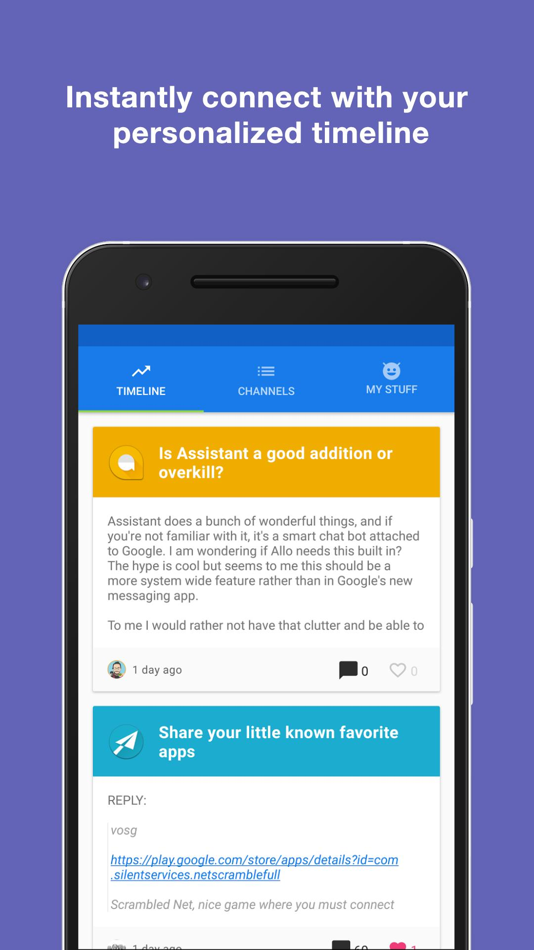 Channels - Forums for Android for Android - APK Download