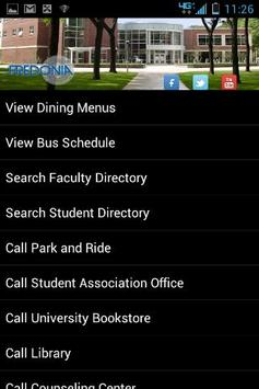 SUNY Fredonia (Campus Info) poster