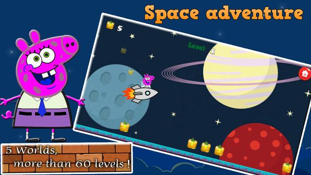 Pig in space adventure apk screenshot