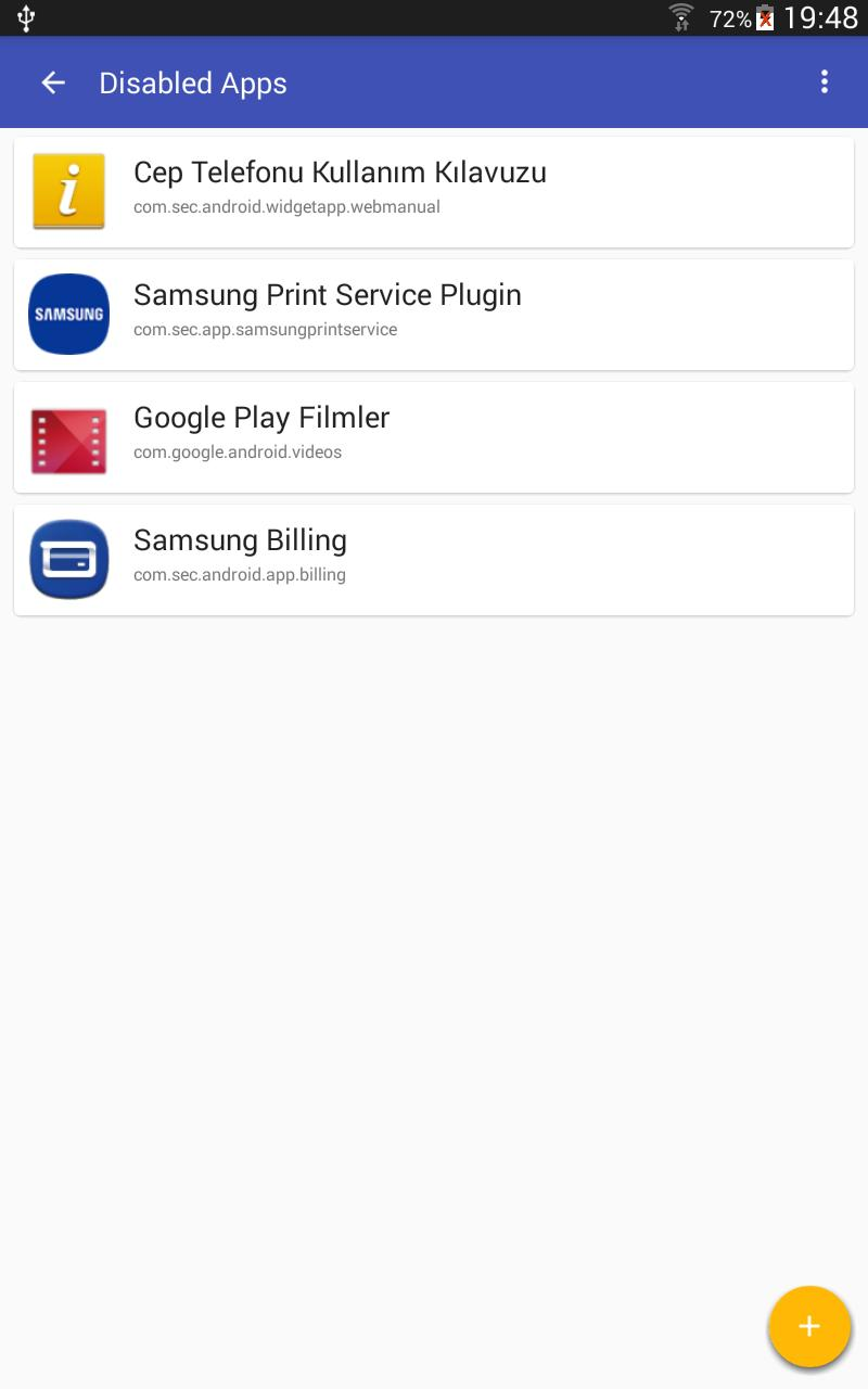 Package Disabler for Samsung for Android - APK Download