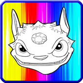 The Sky Coloring Game For Kids icon