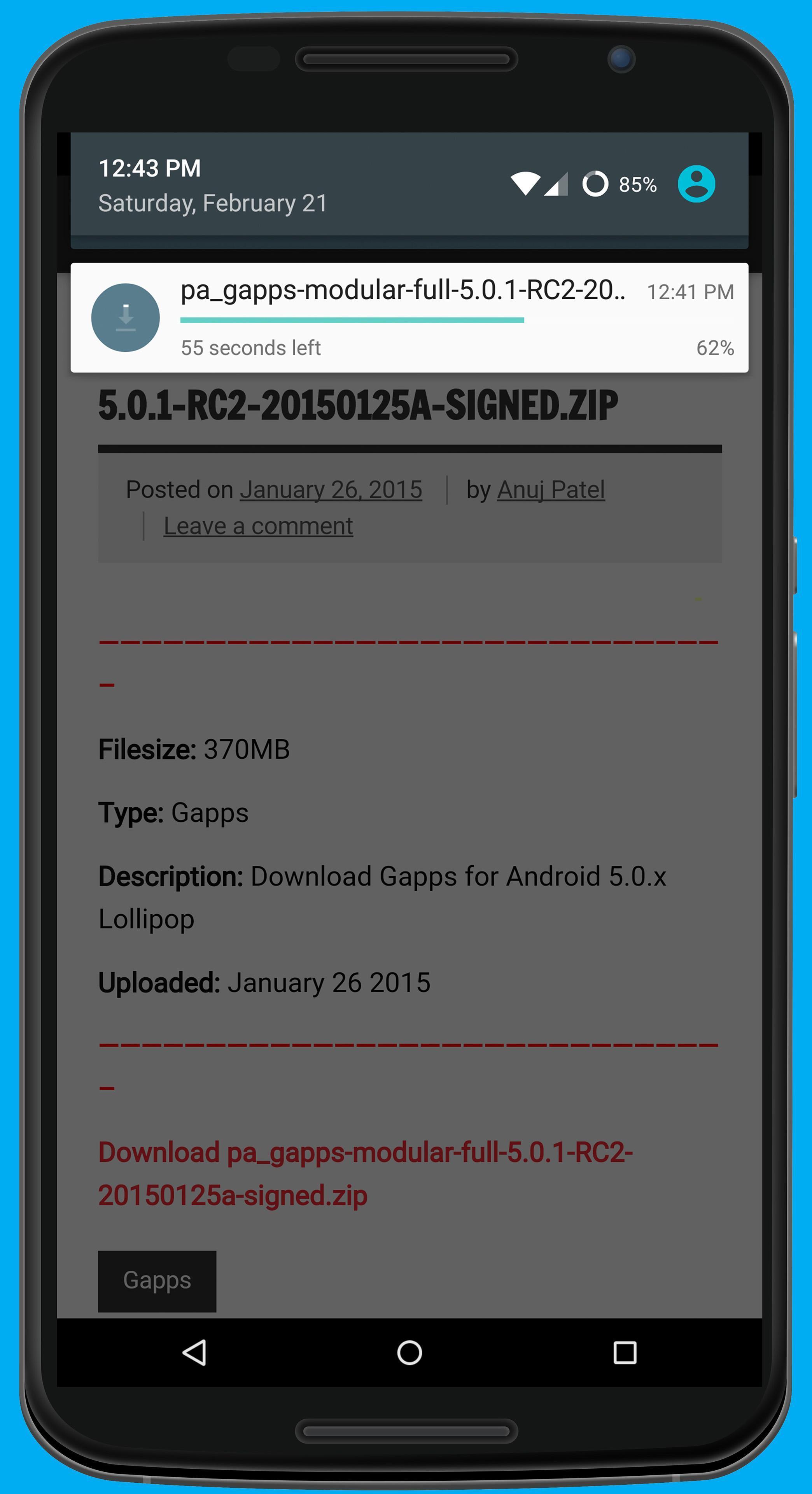gapps apk free download