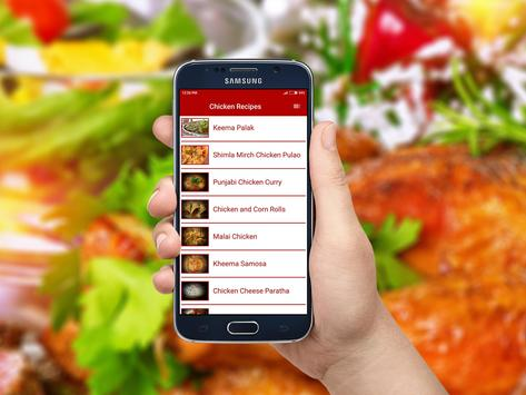 Chicken Recipes apk screenshot