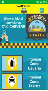 Taxis Chevere poster