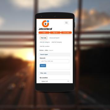 Jobcenter.af apk screenshot