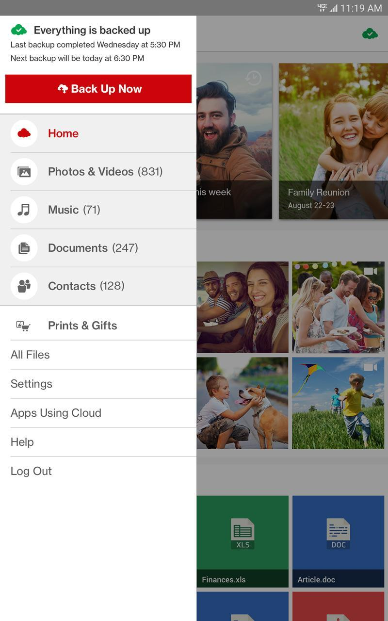 Verizon Cloud for Tablets for Android - APK Download