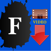 FB Video Downloader App icon