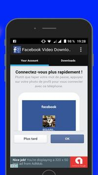 FB Video Downloader App poster