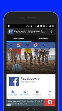 FB Video Downloader App screenshot 1