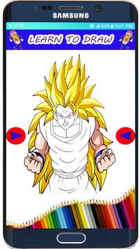 How to Draw DBZ  Super Saiyan The easy Way poster