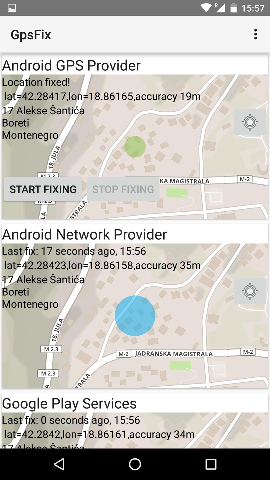 GPS Fix для Андроид - скачать APK