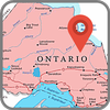 Map of Ontario icon