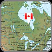 Canada Map icon