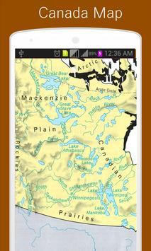 Canada Map screenshot 1