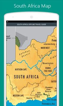 South Africa Map screenshot 1