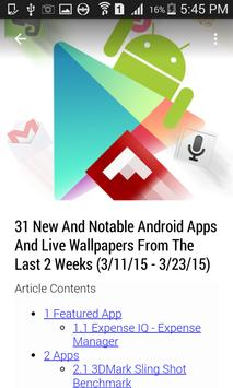 News for Android apk screenshot