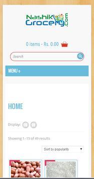 Nashik Online Grocery Shop poster