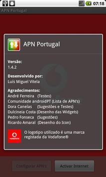 APN Portugal apk screenshot