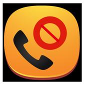 Bloqueador de llamadas icono