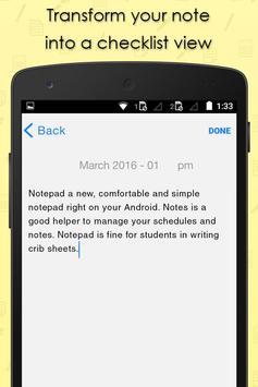 iPhone Notes apk screenshot