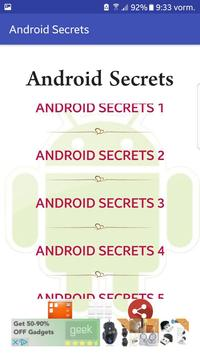 Android Secrets apk screenshot