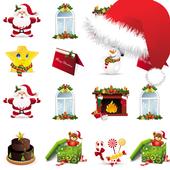 Sticker Emoji Christmas Whats icon