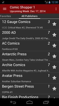 Comic Shopper 1 screenshot 1