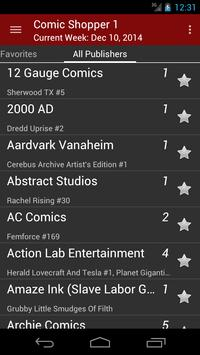 Comic Shopper 1 apk screenshot