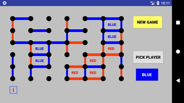 Dots and Boxes : Game of Strategy screenshot 1