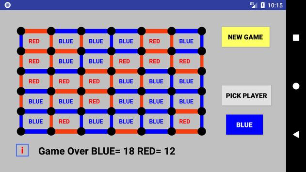 Dots and Boxes : Game of Strategy screenshot 2