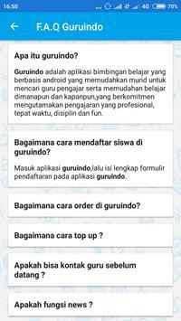 Tentor Guruindo apk screenshot