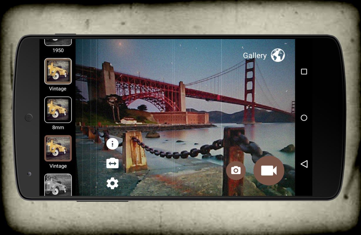 Camera Vintage Android : Vintage retro camera vhs für android apk herunterladen