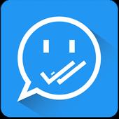 Shh 😏 No Last Seen or Read icon