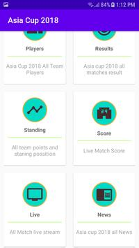 Asia Cup 2018 Live screenshot 1