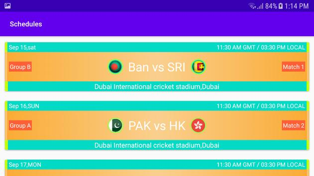Asia Cup 2018 Live screenshot 6